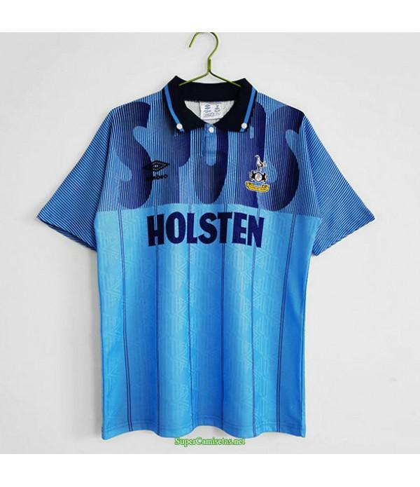 Tailandia Tercera Equipacion Camiseta Tottenham Hombre 1992 94
