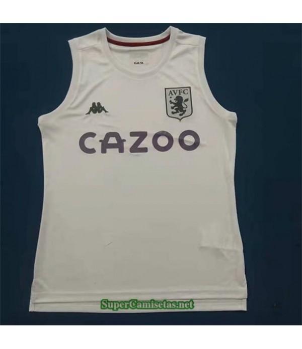 Tailandia Equipacion Camiseta Aston Villa Vest Blancao 2021 2022