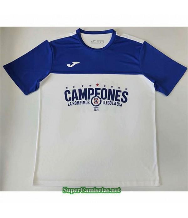 Tailandia Equipacion Camiseta Cruz Azul Edición Campeón 2021 2022