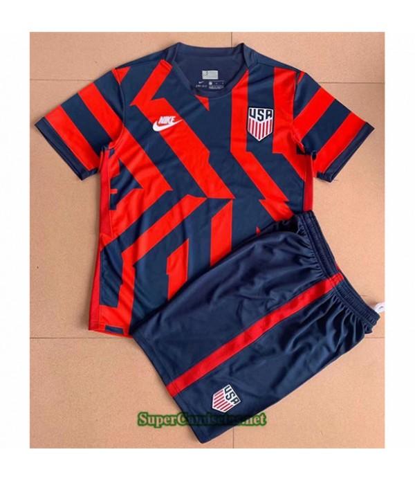 Tailandia Equipacion Camiseta États Unis Enfant Rojo 2021 2022