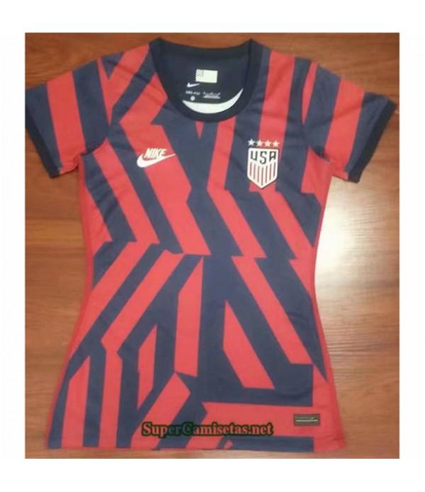 Tailandia Equipacion Camiseta États Unis Femme Rojo 2021 2022