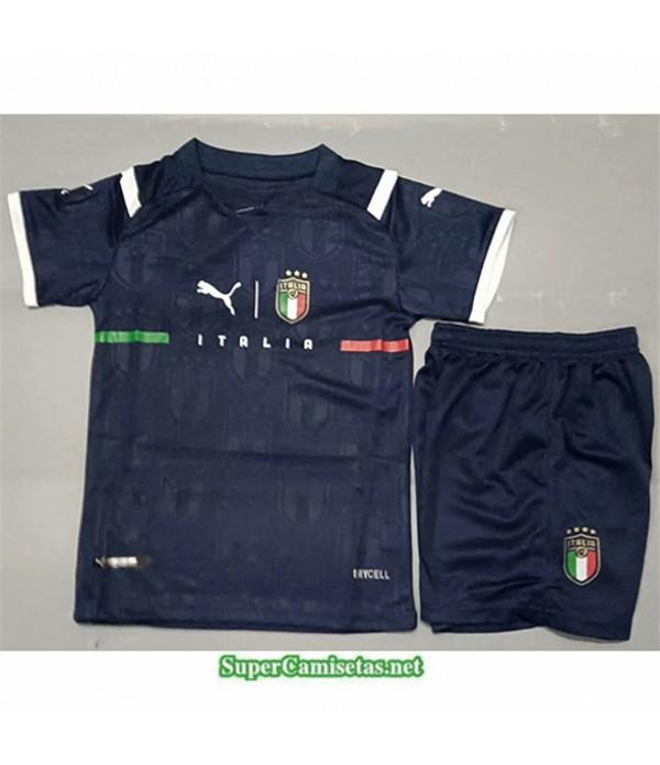 Tailandia Equipacion Camiseta Italie Bleu Enfant 2021 2022