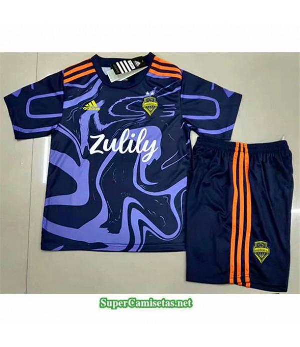 Tailandia Equipacion Camiseta Seattle Enfant 2021 2022