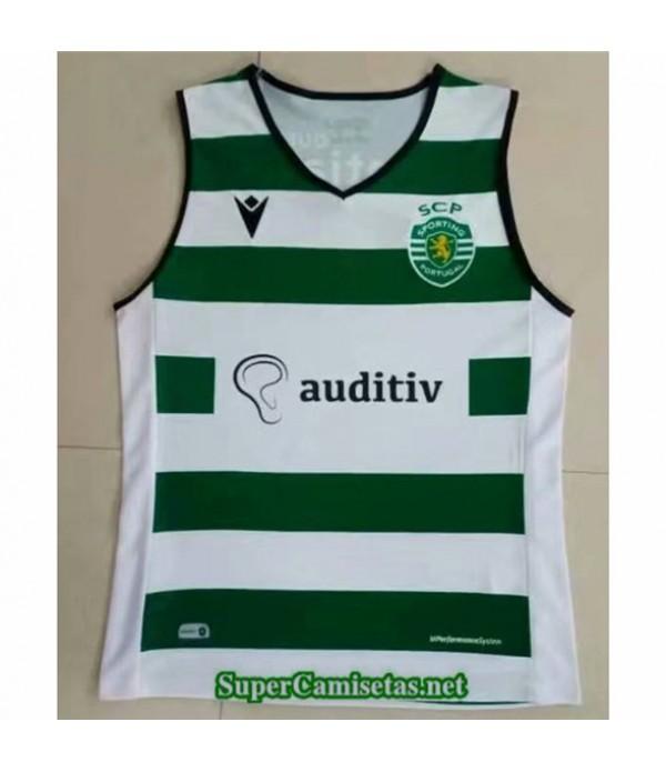 Tailandia Equipacion Camiseta Sporting Cp Vest 2021 2022