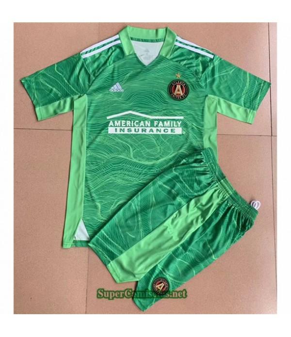 Tailandia Portero Equipacion Camiseta Atalanta Enfant 2021 2022