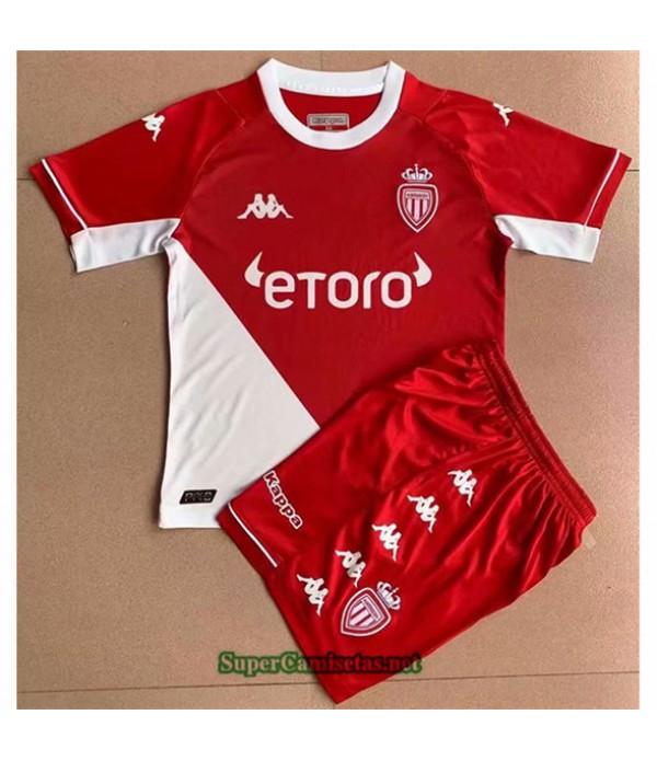 Tailandia Primera Equipacion Camiseta As Monaco Enfant 2021 2022