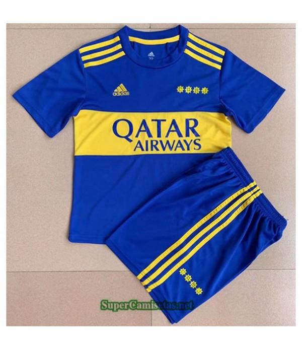 Tailandia Primera Equipacion Camiseta Boca Juniors Enfant 2021 2022