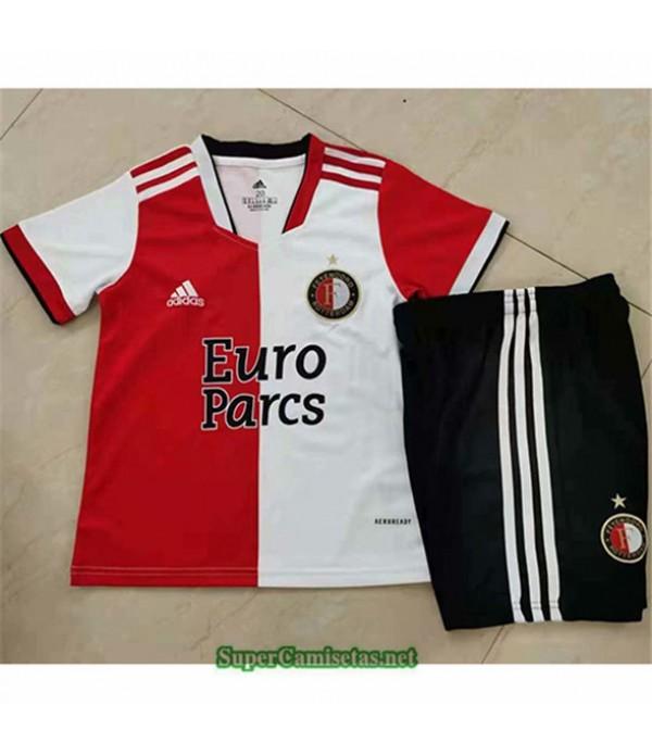 Tailandia Primera Equipacion Camiseta Feyenoord Enfant 2021 2022