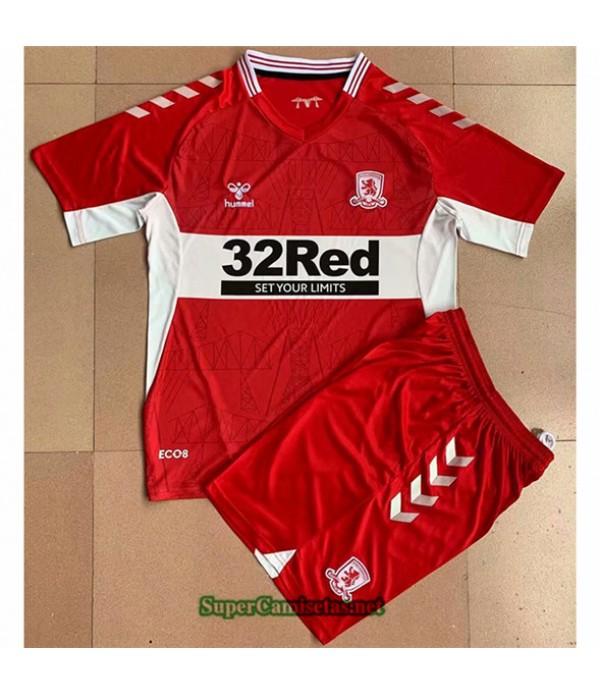 Tailandia Primera Equipacion Camiseta Middlesbrough Enfant 2021 2022