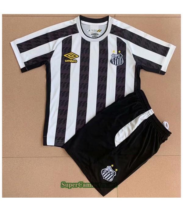 Tailandia Primera Equipacion Camiseta Santos Enfant 2021 2022