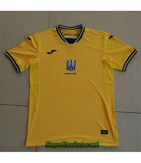 Tailandia Primera Equipacion Camiseta Ukraine 2021 2022