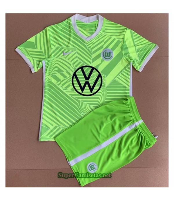 Tailandia Primera Equipacion Camiseta Vfl Wolfsburg Enfant 2021 2022