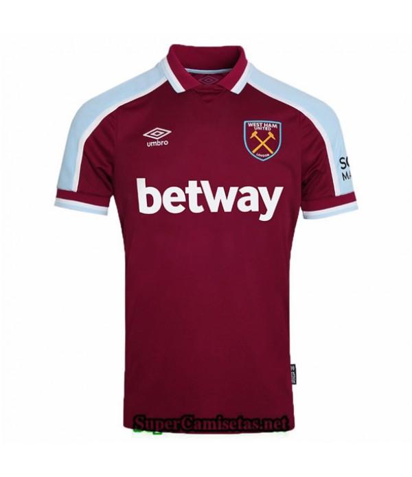 Tailandia Primera Equipacion Camiseta West Ham United 2021 2022