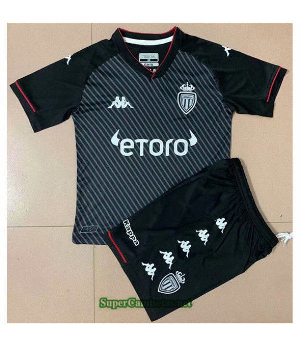 Tailandia Segunda Equipacion Camiseta As Monaco Enfant 2021 2022