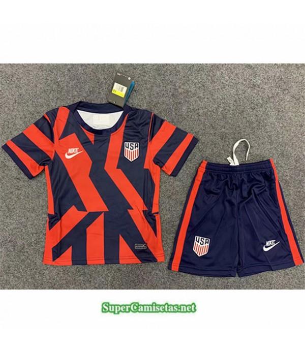 Tailandia Segunda Equipacion Camiseta États Unis Enfant 2021 2022