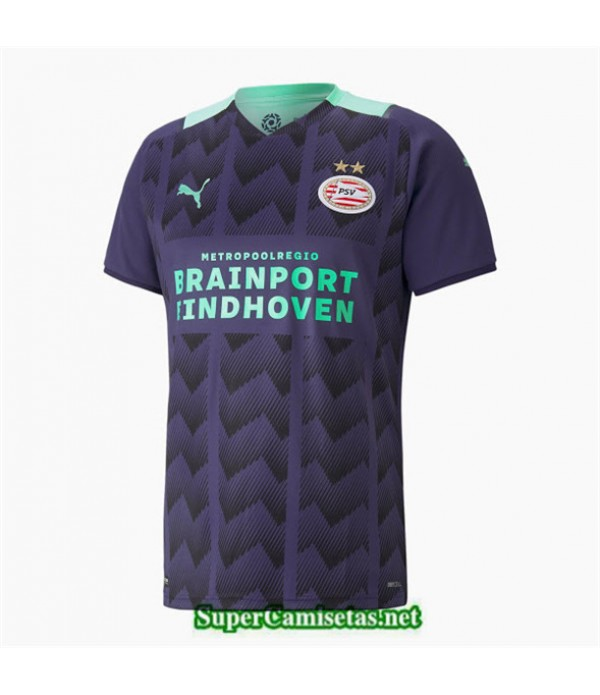 Tailandia Segunda Equipacion Camiseta Psv Eindhoven 2021 2022