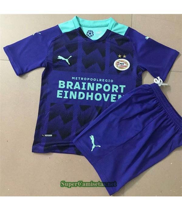 Tailandia Segunda Equipacion Camiseta Psv Eindhoven Enfant 2021 2022