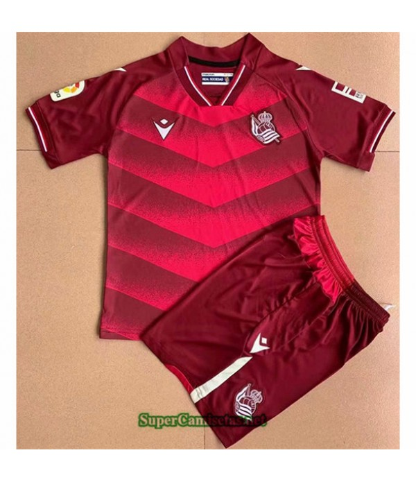 Tailandia Segunda Equipacion Camiseta Real Zaragoza Enfant 2021 2022