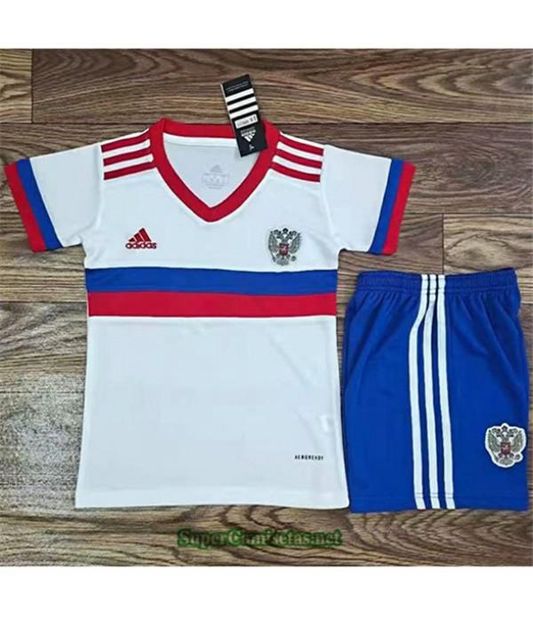 Tailandia Segunda Equipacion Camiseta Russie Enfant 2021 2022