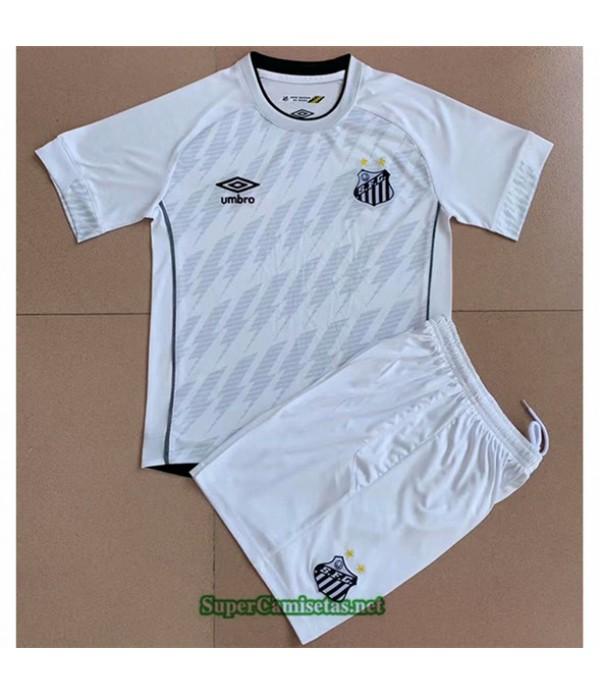 Tailandia Segunda Equipacion Camiseta Santos Enfant 2021 2022