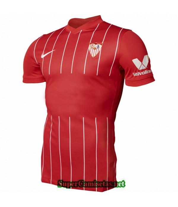 Tailandia Segunda Equipacion Camiseta Sevilla Fc 2021 2022