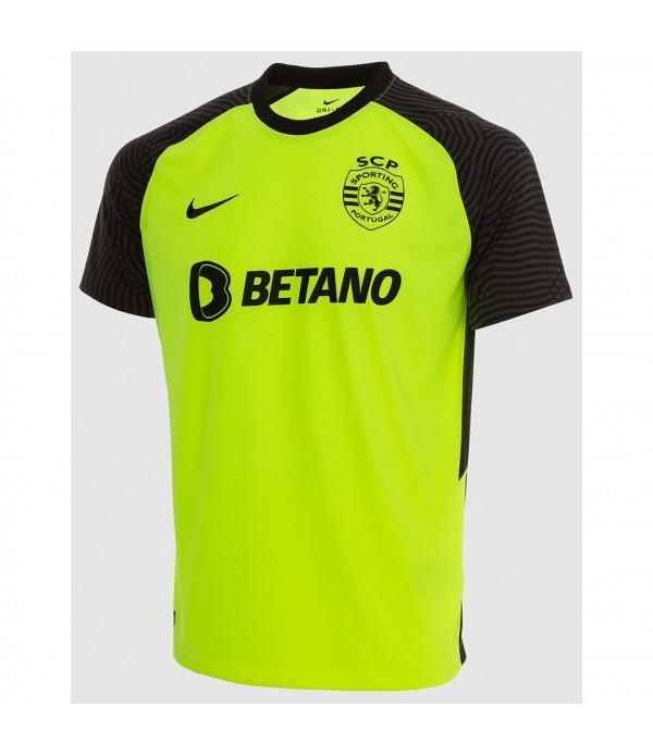 Tailandia Segunda Equipacion Camiseta Sporting Lisbon 2021 2022