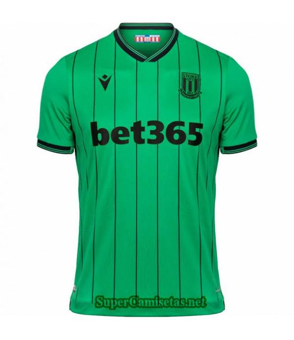 Tailandia Segunda Equipacion Camiseta Stoke City 2021 2022