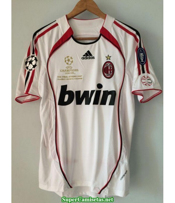 Camisetas Clasicas AC Milan UCL final Away 2006-07