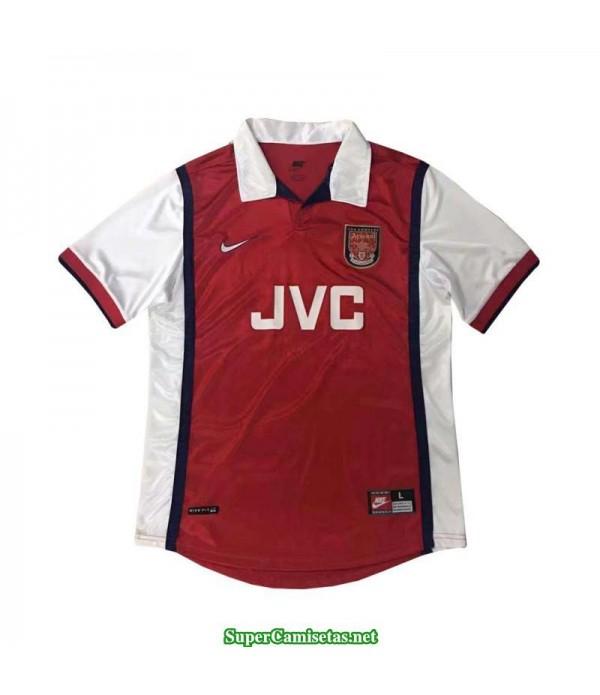 Camisetas Clasicas Arsenal Hombre 1998