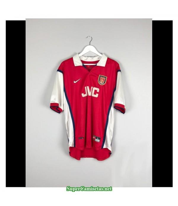 Camisetas Clasicas Arsenal Hombre 1998-99
