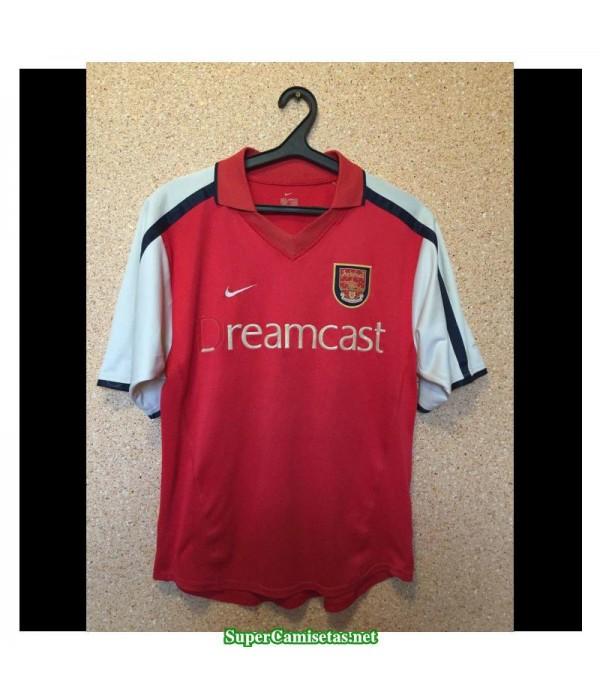 Camisetas Clasicas Arsenal Hombre 2000-2002