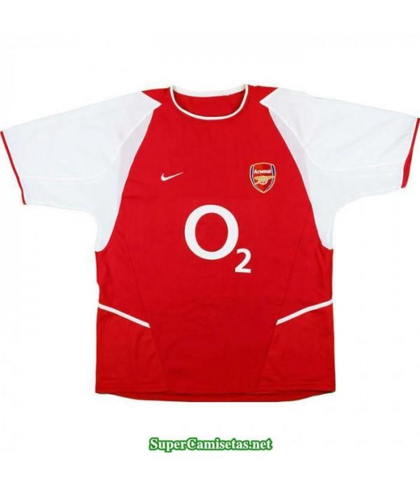 Camisetas Clasicas Arsenal Hombre 2002-04