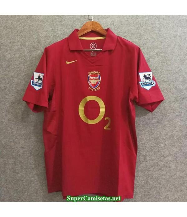 Camisetas Clasicas Arsenal Hombre 2005-06