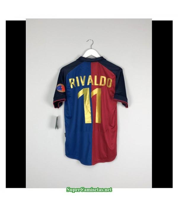 Camisetas Clasicas Barcelona Hombre 11 Rivaldo 1999-2000