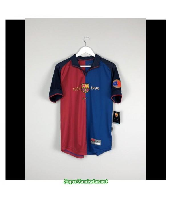 Camisetas Clasicas Barcelona Hombre 1999-2000