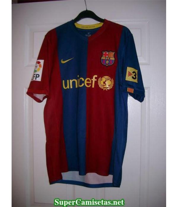 Camisetas Clasicas Barcelona Hombre 2007-2008