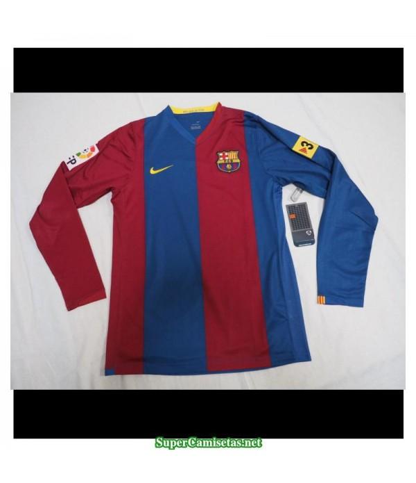 Camisetas Clasicas Barcelona Hombre Manga Larga 2006-07
