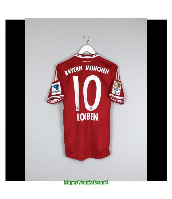 Camisetas Clasicas Bayern Munich Hombre 10 Bayern Munich 2013-14