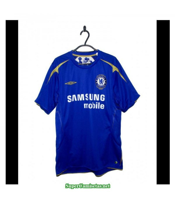 Camisetas Clasicas Chelsea Hombre Bleu 2005-06
