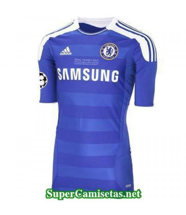 Camisetas Clasicas UCL final Chelsea Hombre 2012
