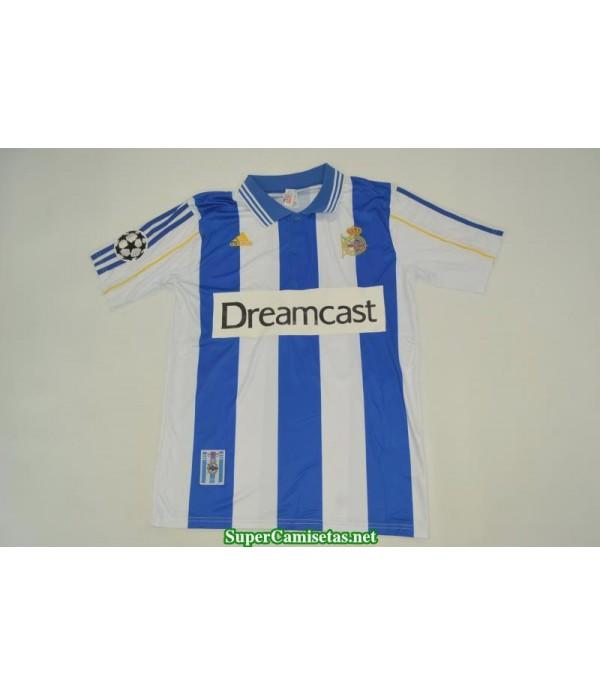Camisetas Clasicas Deportivo Hombre 2000-01