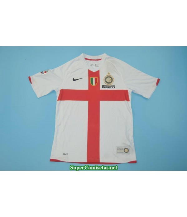 Camisetas Clasicas Inter Away White Centennial 2008-09