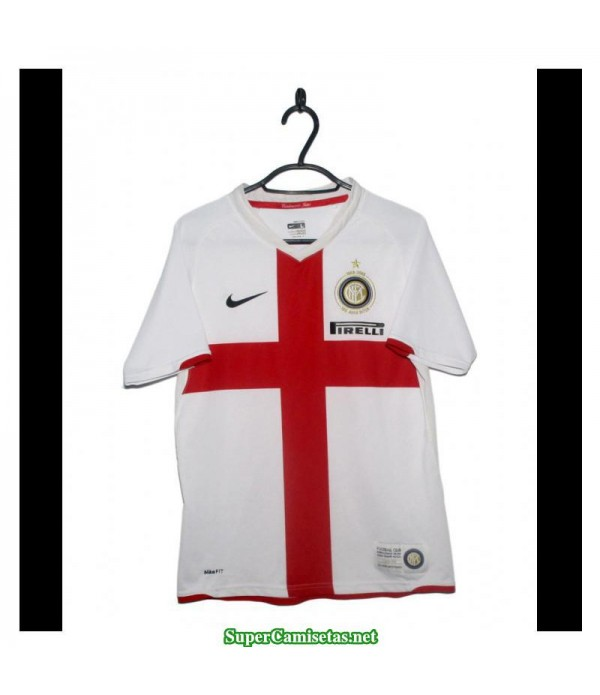 Camisetas Clasicas Inter Milan Away white 2007-08