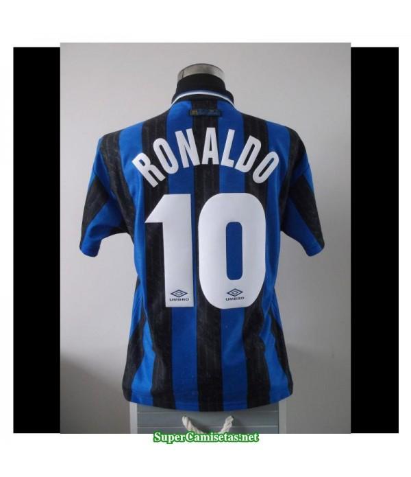 Camisetas Clasicas Inter Milan Hombre 10 RONALDO 1997-98