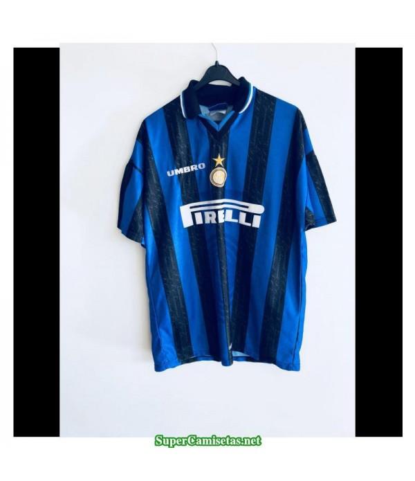 Camisetas Clasicas Inter Milan Hombre 1997-98