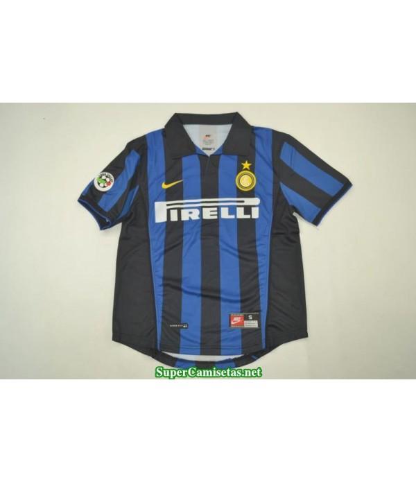 Camisetas Clasicas Inter Milan Hombre 1998-99