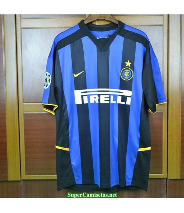 Camisetas Clasicas Inter Milan Hombre 2002-03