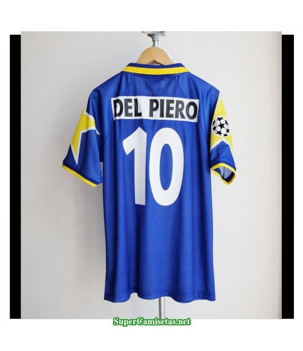 Camisetas Clasicas Juventus Bleu Champions League Final Away 10 Del Piero 1995-96