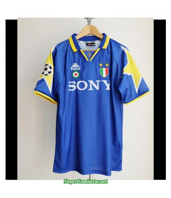 Camisetas Clasicas Juventus Bleu Champions League Final Away 1995-96