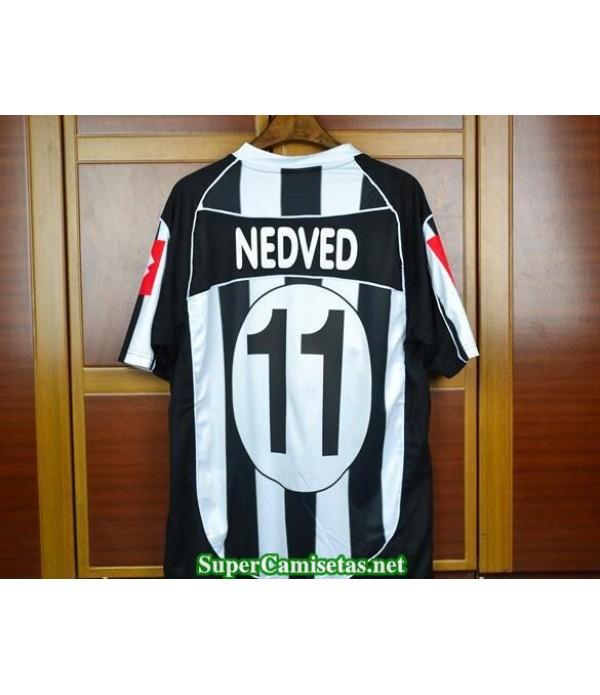Camisetas Clasicas Juventus Champions League final Hombre 11 Nedved 2002-03